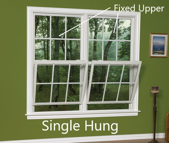 installing single hung window in OKC home